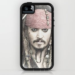 Cpt. Jack Sparrow iPhone Case