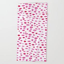 Kiss Kiss Bang Bang Beach Towel