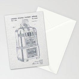 Jukebox Stationery Cards
