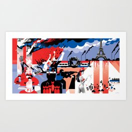The World Since 9/11 Art Print