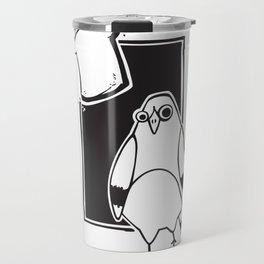 Urban Pairings – Pigeon + Bread Travel Mug