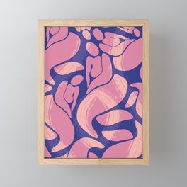 Abstract V. - women figurative Framed Mini Art Print