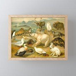 Arctic Wildlife Framed Mini Art Print