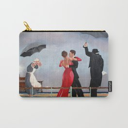 The Singing Butler in Brighton Carry-All Pouch