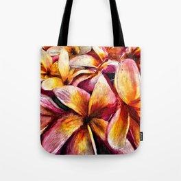 Maui Plumerias Tote Bag