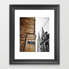 l'impasse Framed Art Print