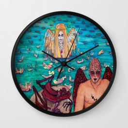 TRUTH about LIES Wall Clock