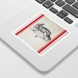 The Hare Sticker