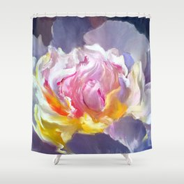 FLOWER OF THE EMPEROR Shower Curtain