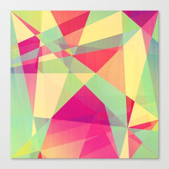 Summer Abstract Canvas Print