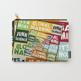 Global Warming Fraud Carry-All Pouch