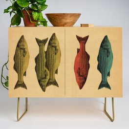 One fish Two fish... Credenza