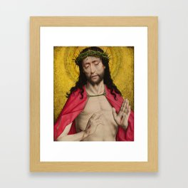 Christ Crowned with Thorns by Dirk Bouts Framed Art Print