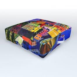 Manarola Cinque Terre Outdoor Floor Cushion