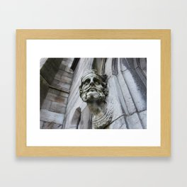 Who's There Framed Art Print
