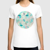 bedding T-shirts featuring Vacation Patchwork by micklyn