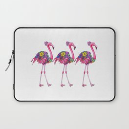 Fancy Felicity Flamingo Laptop Sleeve