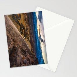 Owens River Floodplain At Sunset - Bishop - California Stationery Cards