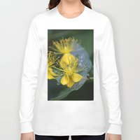 copenhagen Long Sleeve T-shirts featuring Copenhagen Yellow by Abby Hoffman