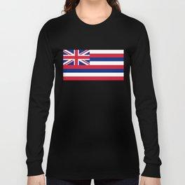 Flag of Hawaii - Hawaiian Flag Long Sleeve T-shirt
