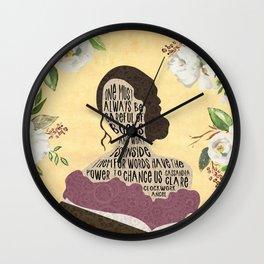 Tessa Gray - Clockwork Angel (new version) Wall Clock