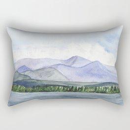 Mountain Ridge Rectangular Pillow