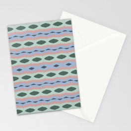 Colorama abstract patterns - vintage smooth Stationery Cards