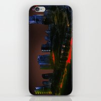 cityscape iPhone & iPod Skins featuring Cityscape by Jonas Ericson