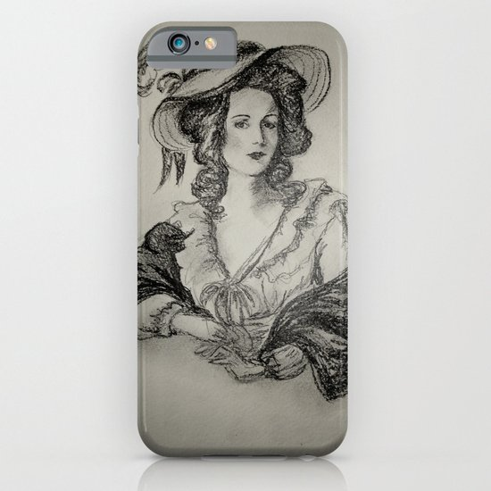 French Sketch IV iPhone & iPod Case