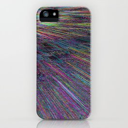 Re-Created Rapture 8 by Robert S. Lee iPhone Case