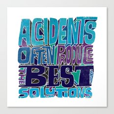 Accidents Canvas Print