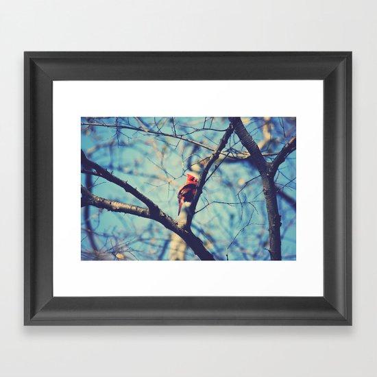 Winter Sonnet Framed Art Print