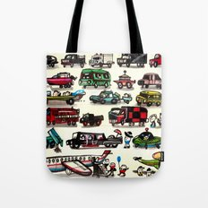 On Our Way. Tote Bag