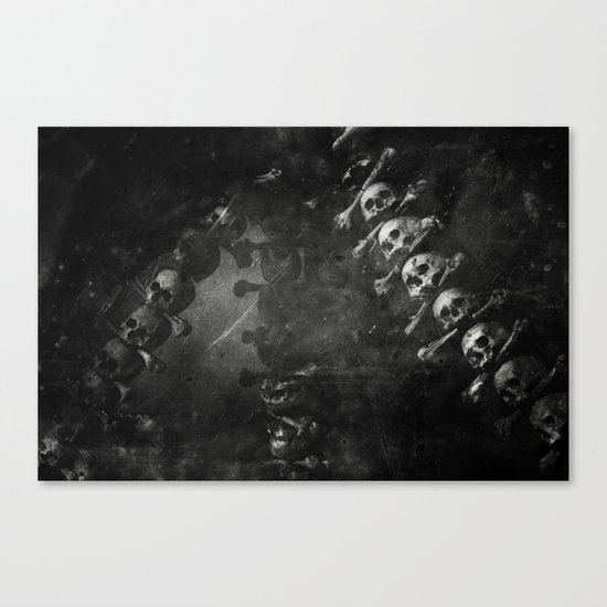 Once Were Warriors VII. Canvas Print