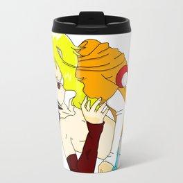 Sasuke y Liara Travel Mug