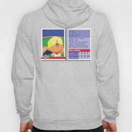 Pablo Sanchez Stat Card -Backyard Baseball Hoody