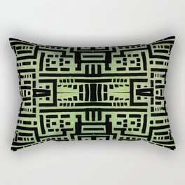 Urban Green Rectangular Pillow