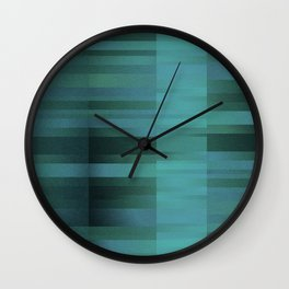 chicky blue Wall Clock