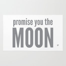 Promise you the moon Rug