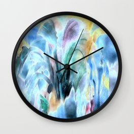 Flowertime Wall Clock