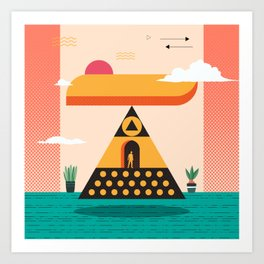 Top T Art Print