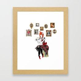 Rassile in 50'S Mood ! Framed Art Print