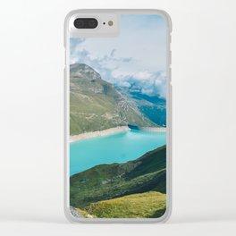 Lac de Mauvosin Clear iPhone Case