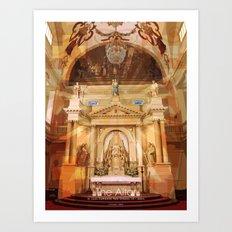 The Altar Art Print