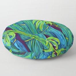 ʻOhe Polū - Blue Bamboo Floor Pillow
