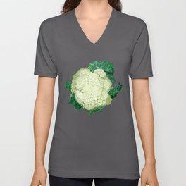 cauliflower Unisex V-Neck