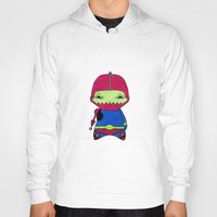 conan Hoodies featuring A Boy - Trap-Jaw by Christophe Chiozzi