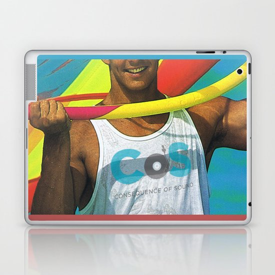 """Summer Albums"" by Cap Blackard Laptop & iPad Skin"