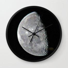 2016 Leap Moon Morning Wall Clock