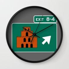 EXIT 8-4 Wall Clock